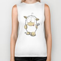 Friend Sheep Biker Tank