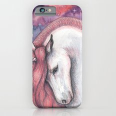 Sad unicorn iPhone 6 Slim Case