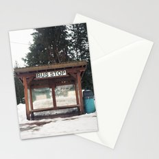 Slocan City Bus Stop Stationery Cards