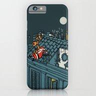 Santa Claus Relaxing Bre… iPhone 6 Slim Case