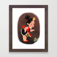 Disney Little Villain - … Framed Art Print