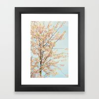 Blooming Nature Framed Art Print