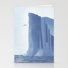 Icy Cliff Stationery Cards