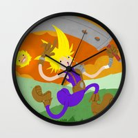 Final Fantasy VII: On Cloud 9 Wall Clock