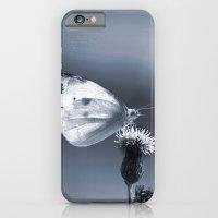 iPhone & iPod Case featuring BLUE BUTTERFLY by SUNLIGHT STUDIOS  Monika Strigel