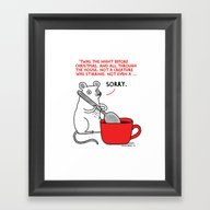 'Twas The Night Before C… Framed Art Print