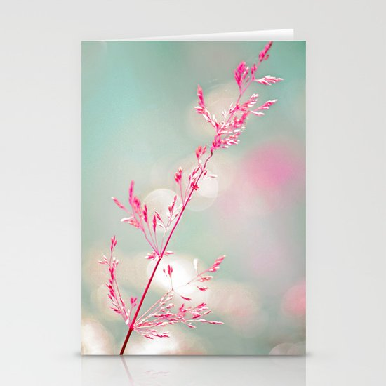 Pink haze Stationery Card