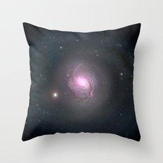 Galaxy NGC 1068 Throw Pillow