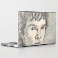 sherlock Laptop & iPad Skins featuring Sherlock by Pendientera