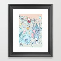 EVA 001 Framed Art Print