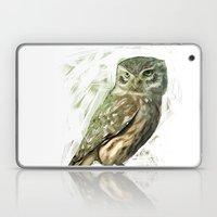 Olive Owl Laptop & iPad Skin