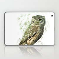 Olive Owl Laptop & iPad Skin