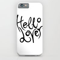"iPhone & iPod Case featuring ""Hello Lover"" by Rachel E Murray"
