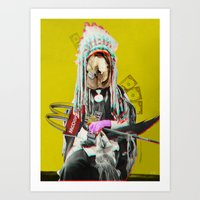 Indian Pop 84 Art Print