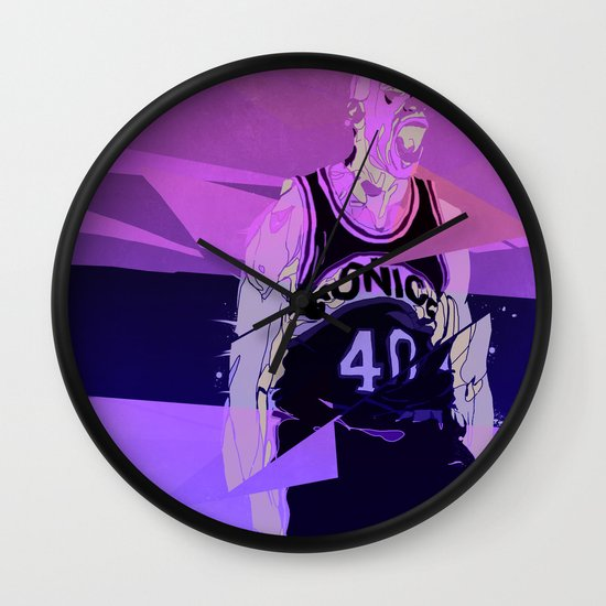 Seattle Reign Man Wall Clock