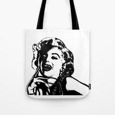 Marilyn Monroe. Rebel: $$$ Tote Bag