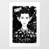 Franz Kafka Art Print