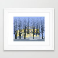 The Cumberland House Framed Art Print