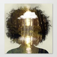 Brain Rain Canvas Print