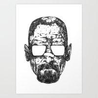 Heisenberg Propaganda Wh… Art Print