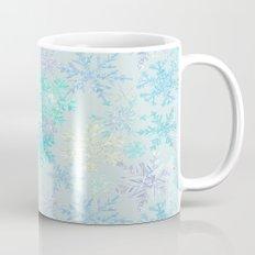 icy snowflakes Mug