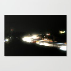 Electric Is The Night Canvas Print