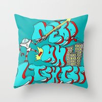 Nerds Are Heroes Throw Pillow