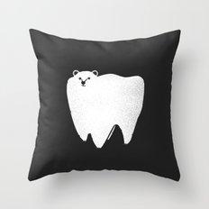 Molar Bear Throw Pillow