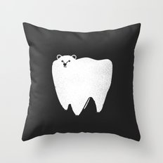 Molar Bear Throw Pillow