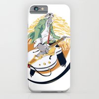 iPhone & iPod Case featuring White Falcon by Oxana-Milka