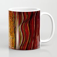 LINE AND WORDS -1 in color Mug