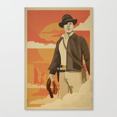 The Archeologist Canvas Print