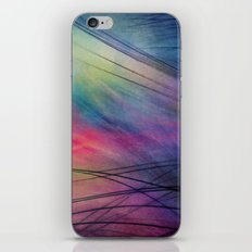 Tropical Feather Abstract iPhone & iPod Skin
