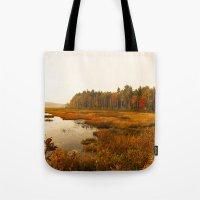 Autums Peaceful Tomorrow - New England Fall Landscape Tote Bag