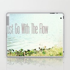 Just Go With the Flow Laptop & iPad Skin