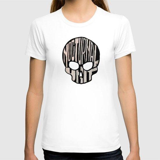NU skull T-shirt