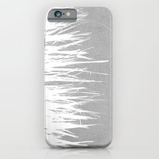 Concrete Fringe White Side iPhone 6 Slim Case