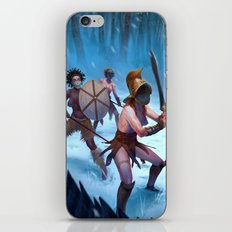 Den of the Ogrelion iPhone & iPod Skin