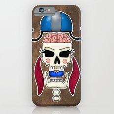 Skater Skull by RonkyTonk Roller Derby Slim Case iPhone 6s