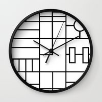 PS Grid Wall Clock