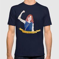 Unbreakable Kimmy Schmidt Mens Fitted Tee Navy SMALL