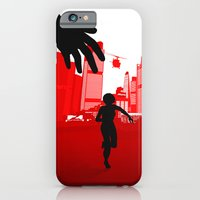 iPhone Cases featuring Mirror's Edge by Bill Pyle