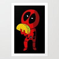 Precious Taco Art Print