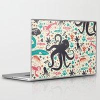 sea Laptop & iPad Skins featuring Sea Patrol by Anna Deegan