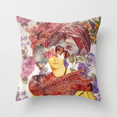 MADAME DEVAUCAY Throw Pillow