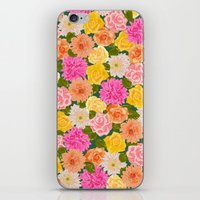 SMELL THE ROSES: -roses … iPhone & iPod Skin