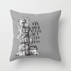 a humble residence Throw Pillow