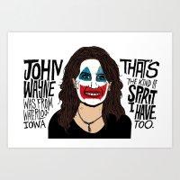 John Wayne Bachmann Art Print