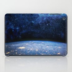 Earth and Galaxy iPad Case