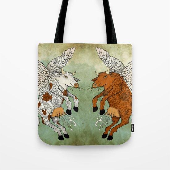 Las vacas voladoras - El día que Tote Bag